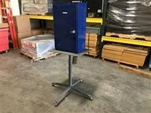 Storage Bin with Roller Stand