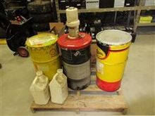 Barrels Of Grease & Assorted Oi