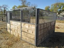 Horse Stall With Hay-Grain Feed