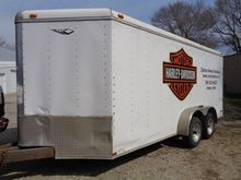 2000 Nation T/A Enclosed Traile