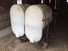 Sprayer Specialties Saddle Tank