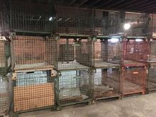 Cargotainer Steel Cage Storage