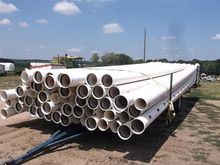 "PVC Irrigation Pipe 62-8"" X 30'"