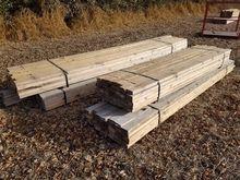 Bundles Of Construction Lumber