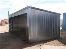Steel Corner Livestock Shed
