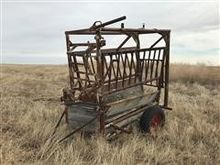 Portable Cattle Chute