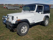 1990 Jeep Wrangler YJ 4x4 Sport