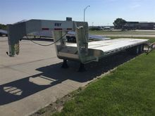 2016 Eby GN1EQP T/A  Flatbed Tr