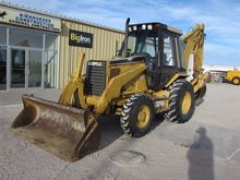 1996 Caterpillar 416B Loader Ba