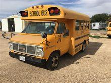 1987 GMC Vandura 3500 School Bu