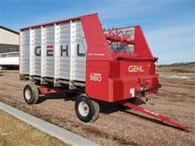 2006 Gehl 980 Forage Wagon