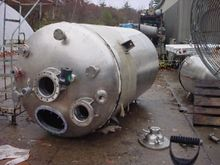 1,600 GALLON 316 STAINLESS STEE