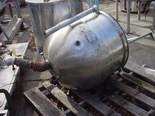 40 gallon STAINLESS STEEL JACKE