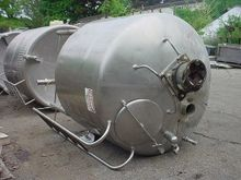750 gallon STAINLESS STEEL TANK
