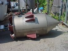 200 GAL STAINLESS STEEL CONE BO