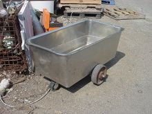 55 gallon STAINLESS STEEL TOTE