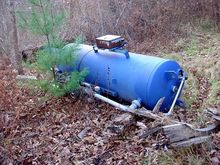 150 GALLON LINED FILTER TANK #G