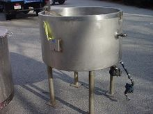 80 gallon STAINLESS STEEL JACKE