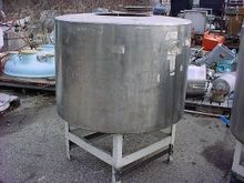 170 gallon STAINLESS STEEL TANK