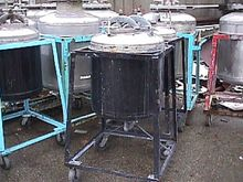 50 GALLON STAINLESS STEEL PRESS