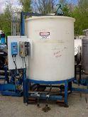 750 gallon CONE BOTTOM POLY TAN