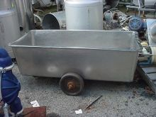 150 gallon STAINLESS STEEL TOTE