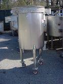 50 gallon STAINLESS STEEL SANIT