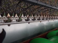2009 John Deere 630F Grain Head