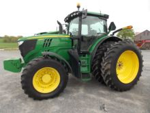 John Deere 7800 MFWD Tractor wi