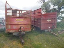 Marshall 8t Silage Trailer