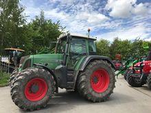 Fendt 815 Vario TMS 4WD Tractor