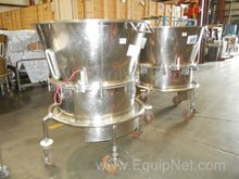 Lot of Two Stainless Steel Flui