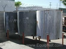 Lot of 3ea 337 Gal Stainless St
