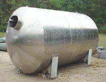 Stainless Steel 3500 Gallon Hor