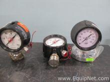 Lot of 3 Ashcroft Pressure Gaug
