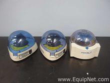 Lot of 3 Mini Centrifuges