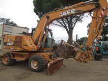 2006 Case WX165 Wheeled excavat