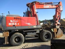 2002 O&K MH 6.5 Wheeled excavat