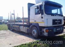 MAN 403 Short Log Truck Romania