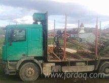 2002 DAF Short Log Truck Romani