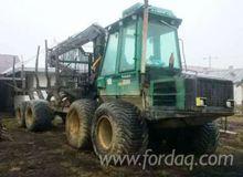 timberjack Forwarder Romania