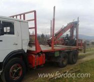 Short Log Truck Romania
