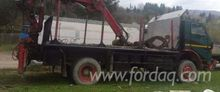 Short Log Truck Romania