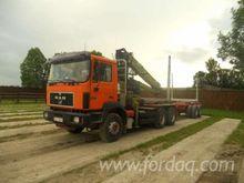1997 Man Longlog Truck Romania