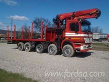 Mercedes Short Log Truck Romani
