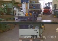 SCM Dovetailing Machine Romania
