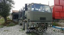 daf Short Log Truck Romania