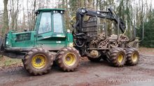 2001 Timberjack Forwarder Germa