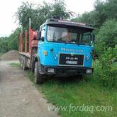 MAN Short Log Truck Romania