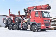2012 DAF CF85.460 Short Log Tru